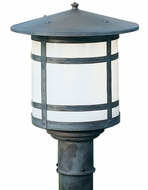 Arroyo Craftsman BP-14L Berkeley Outdoor Lighting Post - 15.125 inches tall