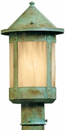 Arroyo Craftsman BP-8 Berkeley Outdoor Lighting Post - 13.25 inches tall