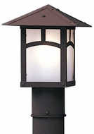 Arroyo Craftsman EP-7 Evergreen Craftsman Outdoor Light Post - 7 inches wide