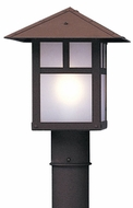 Arroyo Craftsman EP-9 Evergreen Craftsman Outdoor Light Post - 9 inches wide