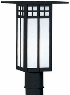 Arroyo Craftsman GP-18 Glasgow Craftsman Outdoor Light Post - 18 inches tall