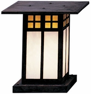 Arroyo Craftsman GC-9 Glasgow Craftsman Outdoor Pier Mount - 9.75 inches tall
