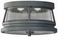 Feiss OL8213-STC Chelsea Harbor LED Nautical 11 Inch Diameter Outdoor Lighting Ceiling