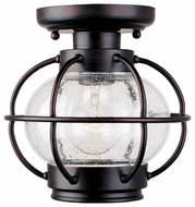 Maxim 30508CDOI Portsmouth Outdoor Semi Flush Ceiling Fixture