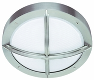 CSL SS1051B-SS Element CFL Nautical Outdoor Flush Mount Ceiling and Wall Light