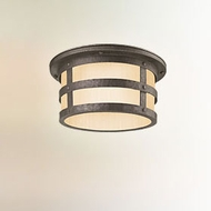 Troy CF3310 Barbosa Fluorescent Lighting Nautical 15 Inch Diameter Flush Light Fixture