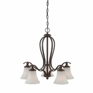 Quoizel SPH5105PN Sophia 5-light Chandelier in Palladian Bronze