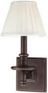 Hudson Valley 9211 Litchfield Wall Sconce with Fabric Shade