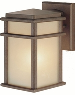 Feiss OL3400-CB Mission Lodge 1-light 9.25 inch Outside Wall Light in Corinthian Bronze