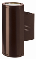 Access 20389MG Trident Large 14  Exterior Wall Sconce with Bronze or Satin Nickel Finish