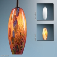 Bruck Ciro Art Glass Pendant