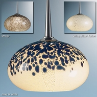 Bruck Laguna Art Glass Pendant