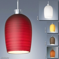 Bruck Queeny I Pendant - Textured Shade
