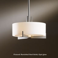Hubbardton Forge 13-6401 Axis Small 12 Inch Diameter Hanging Light Fixture With Adjustable Stem