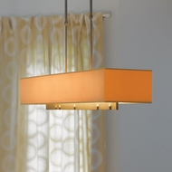 Hubbardton Forge 13-7630 Fullered Notch 42 Inch Long Island Lighting With Shade Options