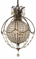 Feiss F2504-3OBZ-BRB Bellini Three Bulb Pendant Light