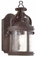 Troy BCD9120OBZ Pamplona Traditional Outdoor Wall Sconce - 6 inches wide