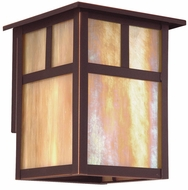 Troy BIH5866OB Monterey Craftsman Outdoor Wall Sconce - 7 inches wide