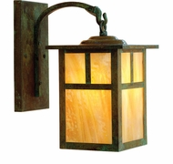 Arroyo Craftsman MB-10 Mission Craftsman Outdoor Wall Sconce - 16 inches tall