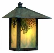 Arroyo Craftsman EW-16 Evergreen Craftsman Outdoor Wall Sconce - 16.875 inches tall
