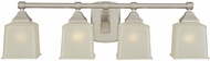Hudson Valley 2244 Lakeland Contemporary 4 Light Vanity Fixture