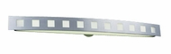 PLC 3374 Cayman Contemporary Fluorescent Vanity Light - 49 inches wide