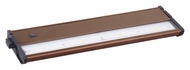 Maxim 89923MB CounterMax MX-L120DC Bronze 4 LED 2700K Under Counter Light Fixture