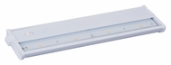 Maxim 89923WT CounterMax MX-L120DC White Finish 4 LED Under Cabinet Lighting - 2700K