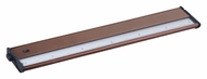 Maxim 89924MB CounterMax MX-L120DC 6 LED 2700K Metallic Bronze Undercabinet Light