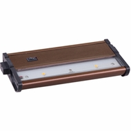 Maxim 89912MB CounterMax MX-L120DC Mettalic Bronze 4 Inch Wide Cabinet Lighting