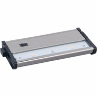 Maxim 89912SN CounterMax MX-L120DC Satin Nickel 4 Inch Wide Under Counter Lighting