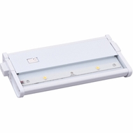 Maxim 89912WT CounterMax MX-L120DC 4 Inch Wide Under Cabinet Light - White
