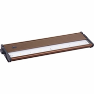 Maxim 89913MB CounterMax MX-L120DC 13 Inch Wide Metallic Bronze Under Cabinet Lighting