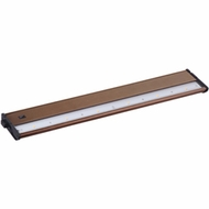Maxim 89914MB CounterMax MX-L120DC Metallic Bronze 21 Inch Wide Under Counter Light