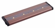 Maxim 89941BRZ CounterMax MX-L-LPC Anodized Bronze LED 12 Inch Long Under Cabinet Lighting