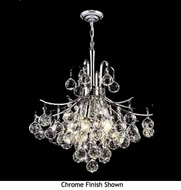 Worldwide 83039 Worldwide 6-light Crystal Chandelier Pendant