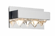 PLC 18162 Crysto Contemporary 2 Light Vanity Light