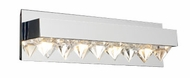 PLC 18164 Crysto Contemporary 4 Light Vanity Light