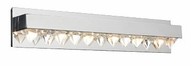 PLC 18166 Crysto Contemporary 6 Light Vanity Light