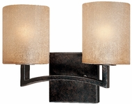 Troy B1732-ABZ Austin 2 Light Wrought Iron Wall / Vanity Fixture