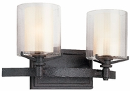 Troy B1712-FR Arcadia 2 Light French Iron Wall / Vanity Fixture