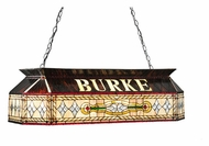Meyda Tiffany 106775 Personalized Burke Oblong Billiard Lighting - 40 Inches Wide