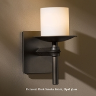 Hubbardton Forge 20-4901 Rook 7.9 Inch Tall Transitional Light Sconce With Glass Options