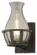 Troy B3591 Chianti 11 Inch Tall Bronze Wall Sconce Lighting Fixture - Transitional