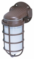 Nuvo 76621 Industrial Style Small 9 Inch Tall Old Bronze Outdoor Wall Sconce