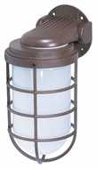 Nuvo 76623 Industrial Style Large Old Bronze Finish 11 Inch Tall Outdoor Lighting Fixture