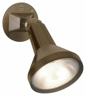 Nuvo 77494 Exterior Flood Light Dark Bronze 4 Inch Wide Security Lighting