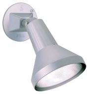 Nuvo 77702 Exterior Flood Light Modern Gray Finish 4 Inch Long Security Lighting