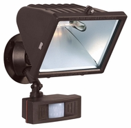 Nuvo 76509 Exterior Flood Light Outdoor 12 Inch Tall Bronze Flood Light With Motion Sensor