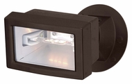 Nuvo 76511 Exterior Flood Light Halogen Outdoor Mini Flood Security Light - Bronze